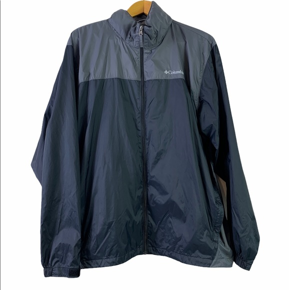 Columbia Mens Windbreaker full zip jacket XXL